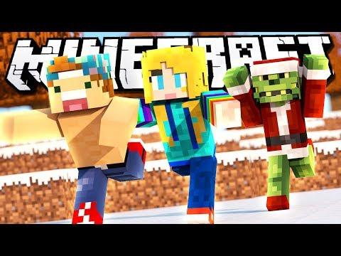 ESCAPE THE GRINCH!   Minecraft Christmas Grinch Mini-Game