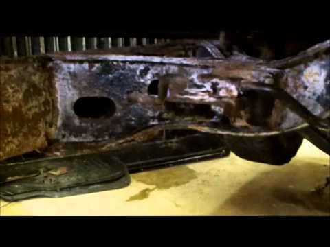 Toyota 4x4 Truck rebuild, frame rust and rebuild - YouTube