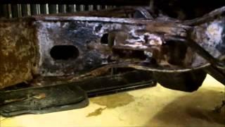 Toyota 4x4 Truck rebuild, frame rust and rebuild