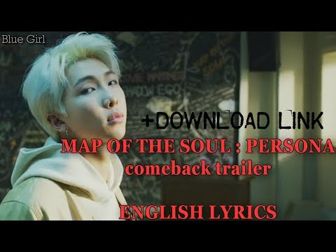 BTS-MAP OF THE SOUL : PERSONA (ENGLISH LYRICS)+DOWNLOAD LINK ...