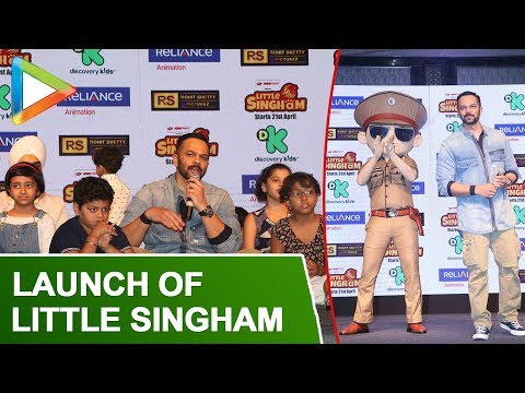 Launch Of Discovery Kids Little Singham With Rohit Shetty | Part 2