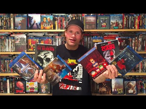 My Blu-ray Collection Update 9/3/16 : Blu ray and Dvd Movie Reviews