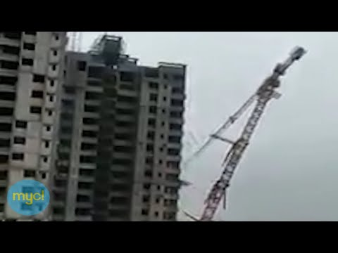 HOLY CR*P! Construction Crane Falls on Houses & Injures 3-month-old Baby.