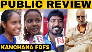 Kanchana 3 FDFS Public Review | Raghava Lawrence | Sun Pictures