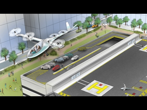 Uber is planning flying cars   CNBC International