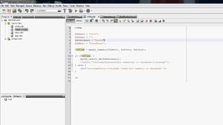 NetBeans PHP Tutorial - How To Make A Login System #8