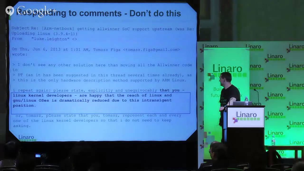 Linux Kernel Upstreaming How-To - Linaro Connect Asia 2014