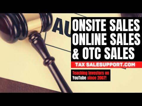 Tax Lien/Deed Workshop 1: Live/Online Auctions & OTC