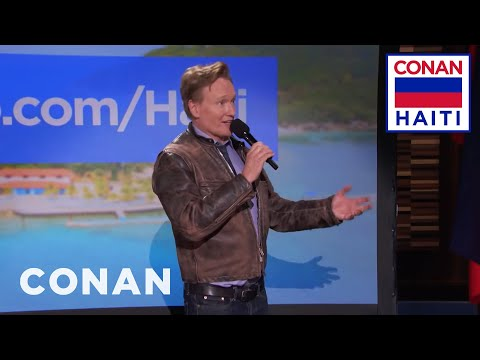 Q&A: How Conan's Trip To Haiti Came Together  - CONAN on TBS