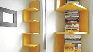 Wall Mounted Shelving Picture Ideas | Creative Home Bookshelves