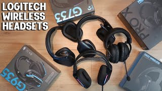 TOP FOUR LOGITECH WIRELESS HEADSETS
