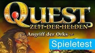 Quest: Zeit der Helden (Spiel) / Anleitung & Rezension / SpieLama