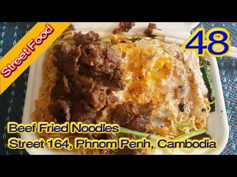 Street Food - Beef - Noodles - Beef Noodles - Beef Fried Noodles - Beef Stew - Vlog 48