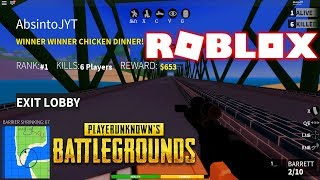 PUBG NO ROBLOX NEW GAME! -The BEST DEPARTURE OF ALL-CaribBros BATTLEGROUNDS