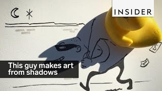 This guy makes amazing art out of nothing but shadows