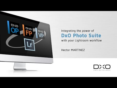 Integrating the power of DxO Photo Suite software with your Lightroom workflow