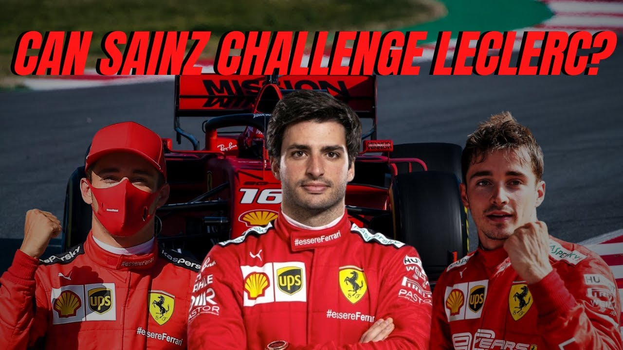 Video Can Carlos Sainz Challenge Charles Leclerc In 2021