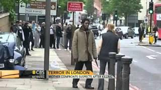 British soldier savagely killed in London machete attack