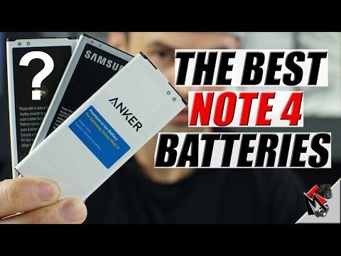 Best Galaxy NOTE 4 Batteries in 2018- ANKER & ZEROLEMON