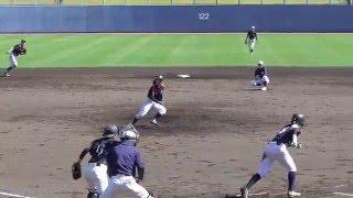 2016.4.17 高知市の春野総合運動公園野球場で行われている、マドンナジ...
