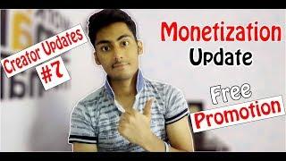 CreatorUpdates #7 Youtube Monetization,Channel Promotion,Pewdiepie Vs T-Series,Whatsapp PIP Mode