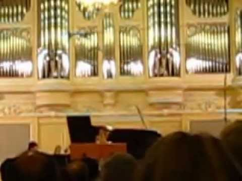 A Concert in Saint-Petersburg State Conservatory