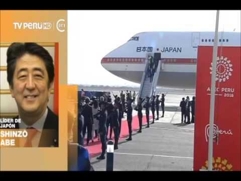 APEC 2016: El primer ministro japonés Shinzo Abe llega a Lima