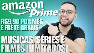 AMAZON PRIME no BRASIL! ADEUS, SPOTIFY e NETFLIX?! 30 dias GRÁTIS para conhecer!!