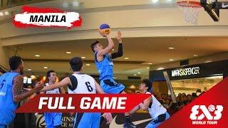 Manila South (PHI) vs Manila West (PHI) - Full Game - Manila - 2015 FIBA 3x3 World Tour