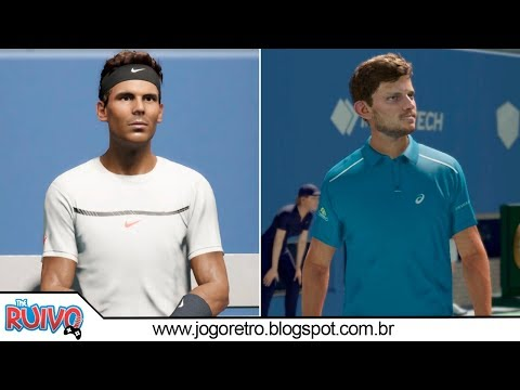 Rafael Nadal vs. David Goffin - AO International Tennis 2018 (VERY HARD)