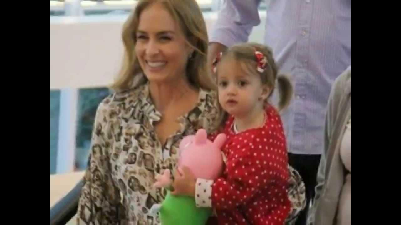 Fotos da filha da apresentadora angelica 96