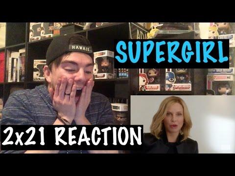 SUPERGIRL - 2x21 'RESIST' REACTION