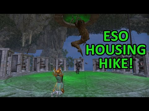 ESO | Housing Hike! Touring homes and getting decoration inspiration! March 22,2019