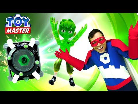 Бен 10 в видео онлайн – Новые часы Омнитрикс для Бен Тена! - Той Мастер и игры с супергероями