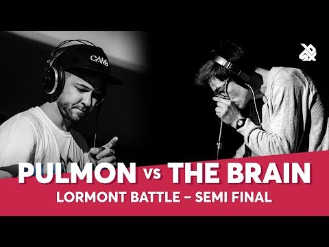 PULMON vs THE BRAIN | Lormont Loopstation Beatbox Battle | Semi Final