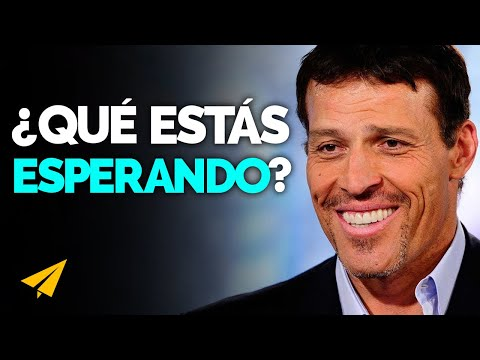 Decide Ser Feliz y No te Rindas| Tony Robbins en Español: 10 Reglas para el éxito Vol 2
