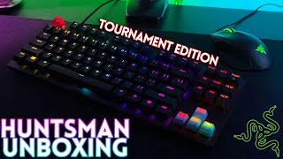 Razer Huntsman Tournament Edition Unboxing & Sound Test! Rounding Out My Collection?!