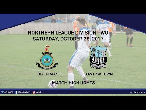 HIGHLIGHTS - Blyth AFC 3-3 Tow Law Town