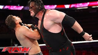 Demon Kane vs. The Miz - Intercontinental Championship Match: Raw, June 27, 2016