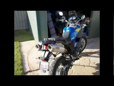 yamaha xt660z tenere arrow exhaust youtube. Black Bedroom Furniture Sets. Home Design Ideas