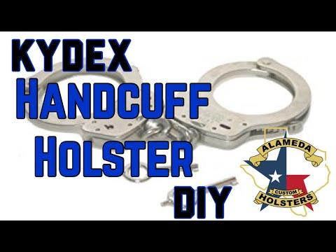 Kydex Handcuff Holster DIY