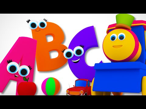 Bob The Train  Phonics Song  Learn ABC  Alphabet Song  Childrens  Bob Cartoons  Kids Tv