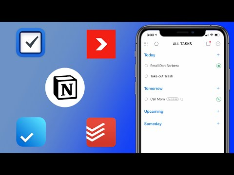 Best To-Do Apps For IOS!
