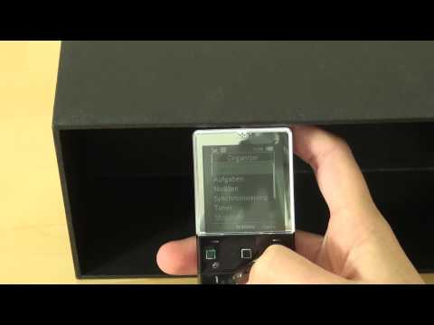 Sony-Ericsson Xperia Pureness Test Bedienung