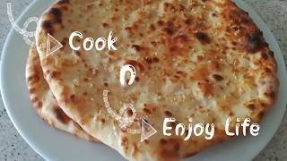 Homemade naan bread in oven  | easy naan recipe @Samee cooking recipes