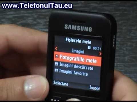 Samsung E590 Review ( in Romana ) - www.TelefonulTau.eu -