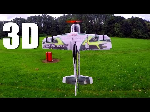 Crack Pitts Mini 3D Biplane