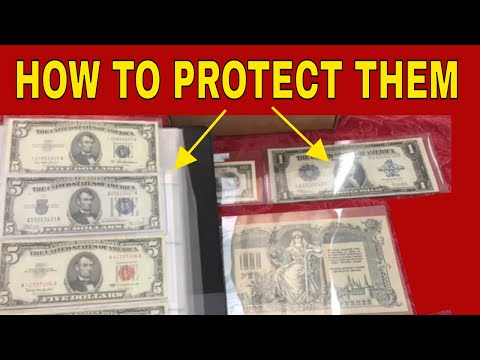 5 Tips On How To Protect Your Rare Paper Money & Valuable Currency!