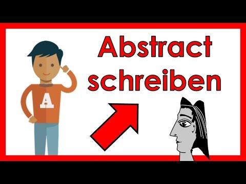 Abstract schreiben für eine Bachelorarbeit/Hausarbeit | So bringst du deine Arbeit auf den PUNKT!
