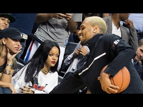 Awkward Chris Brown And Rihanna Reunion
